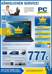 Preise gültig bis 30.09 - PC SPEZIALIST Bonn