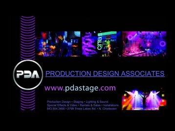 PRODUCTION DESIGN ASSOCIATES - PDA