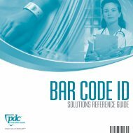 HC Bar Code Reference Guide 2_05.qxd - Precision Dynamics ...