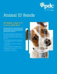Easily identify and classify animals with Animal ID Bands - Precision ...