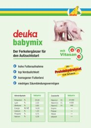 Proteinhydrolysat - deuka Deutsche Tiernahrung Gmbh & Co. KG