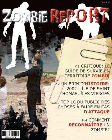 P.4 COMMENT RECONNAÎTRE UN ZOMBIE? P.3 ... - PDF Archive