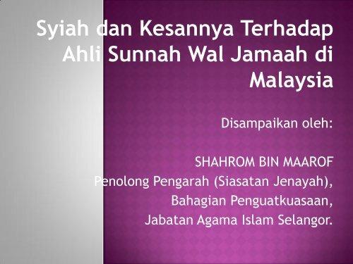 Ahli Sunnah Wal Jamaah di - PDF Archive