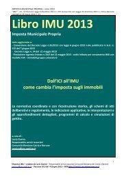 Libro IMU 2013 - Comunita' Montana del Catria e Nerone ...