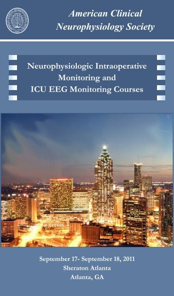 American Clinical Neurophysiology Society - PDF Archive