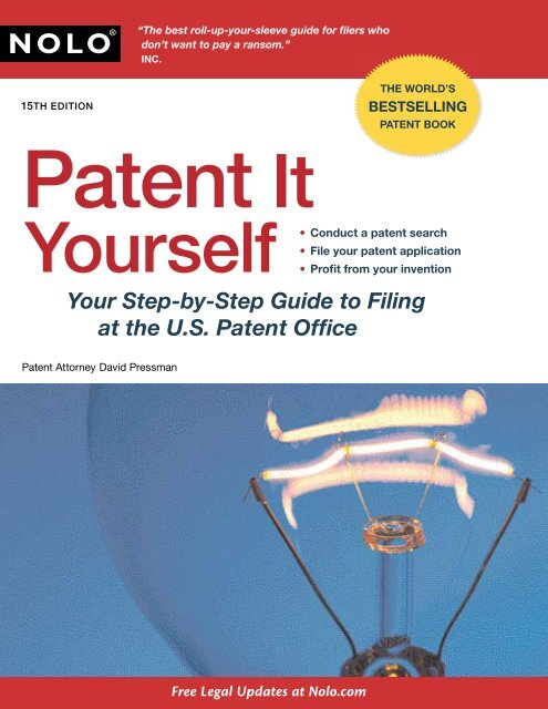 Patent It Yourself - PDF Archive