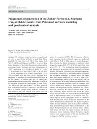 Programed oil generation of the Zubair Formation ... - PDF Archive