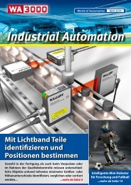 WA3000 Industrial Automation Mai 2014