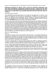 Anhang zum Antrag auf gerichtliche Entscheidung bei ... - PDF Archive