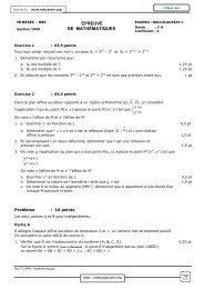 ÉPREUVE DE MATHÉMATIQUES - Fichier PDF
