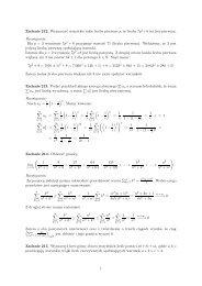 Zadanie 212. Wyznaczyć wszystkie takie liczby ... - PDF Archive