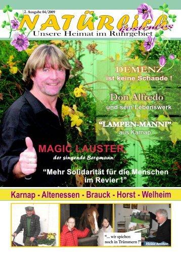 Stadtmagazin NATUERlich - 04/2009