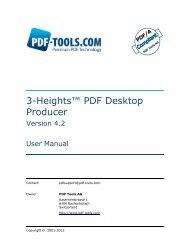 Desktop - PDF Tools AG