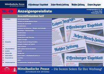Mediadaten - Die-Zeitungen.de