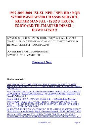 99 isuzu trooper repair manual ebook array powered by tcpdf www tcp rh yumpu com indian chief pdf service repair workshop manual 1999 2001 1999 2000 2001 isuzu fandeluxe Images