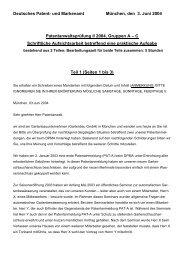 Deutsches Patent- und Markenamt München, den 3. Juni 2004 ...