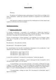 1 Epreuve B 2007 Monsieur, En réponse à la Notification émise ...