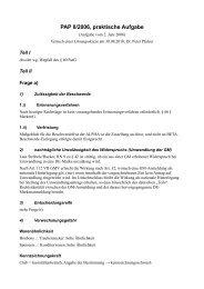 PAP II/2006, praktische Aufgabe