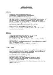 AMTSJAHR 2008/2009 (Bericht eines Kandidaten) 1. Monat ...