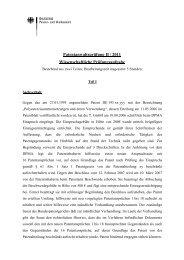 Patentanwaltsprüfung II / 2011 Wissenschaftliche Prüfungsaufgabe