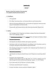 Standesrecht 23.01.07 Bundesverband der deutschen ...