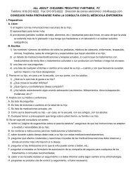 Spanish _Preparing-f.. - All About Children Pediatric Partners, PC