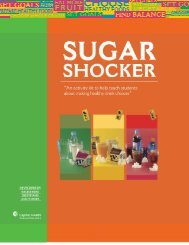 Sugar Shocker (PDF) - Capital Health