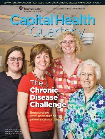 The Chronic Disease Challenge The Chronic ... - Capital Health