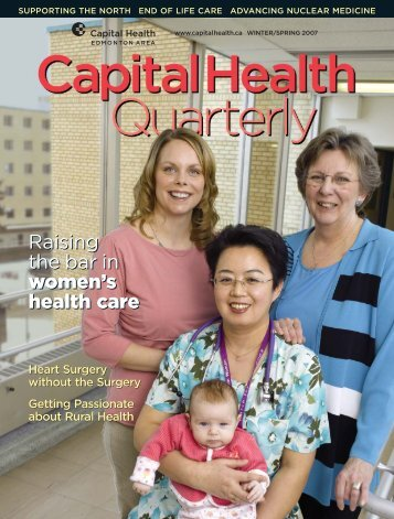 Raising the bar in women's health care Raising the ... - Capital Health