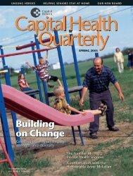 Capital Health Quarterly Spring 2003