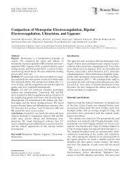 Comparison of Monopolar Electrocoagulation ... - Capital Health