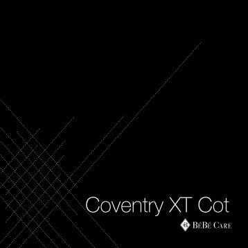 Coventry XT Cot - CNP Brands