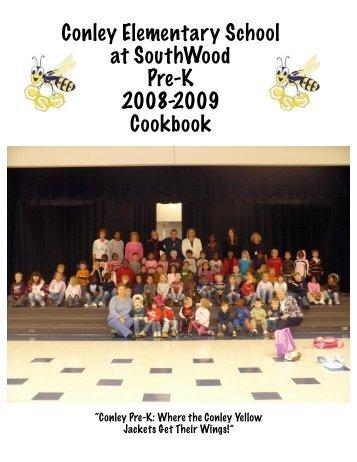 Pre-K Cook Book - Conley Elementary School