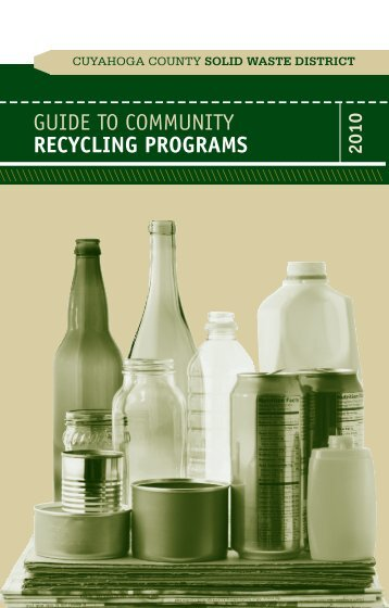 Guide to Community RECYCLING PROGRAMS - Cuyahoga County ...