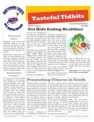 Fall Nutrition News