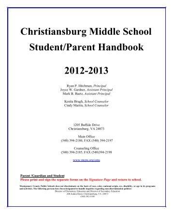 Christiansburg Middle School - Montgomery County Public Schools