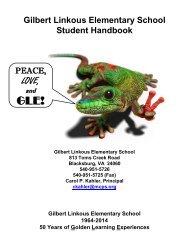 Student Handbook - Montgomery County Public Schools