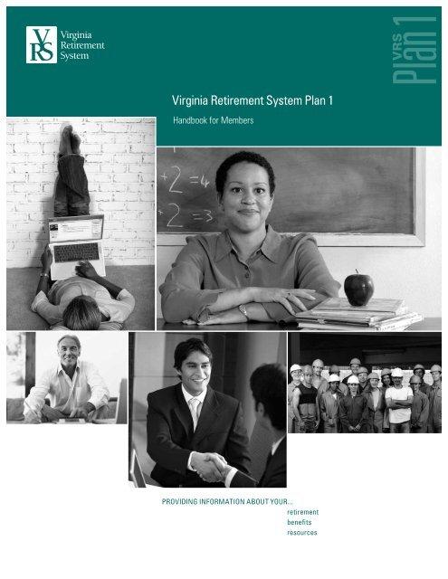 VRS Handbook for Members - Virginia Retirement System