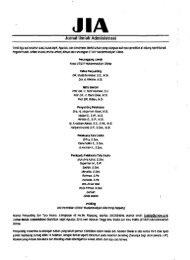 Jurnal Ilmiah Adminsitrasi - PDII – LIPI
