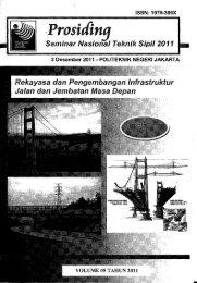 Prosiding Seminar Nasional Teknik Sipil 2011 ... - PDII – LIPI