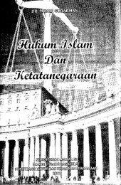 Hukum Islam dan Ketatanegaraan - PDII – LIPI
