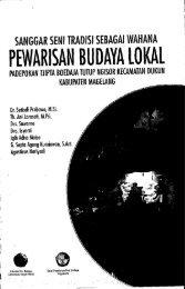 PEWARISAN BUDAYA lOKAl - PDII – LIPI