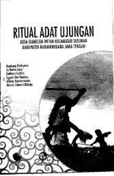 Ritual Adat Ujungan Desa Gumelem Wetan Kecamatan ... - PDII – LIPI