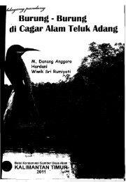 Burung-burung cagar alam Teluk Adang - PDII – LIPI
