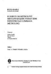 Kurikulum Metrologi Menjawab Kebutuhan SDM ... - PDII – LIPI