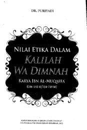 Nilai Etika Dalam Kalilah wa Dimnah Karya Ibnu Al ... - PDII – LIPI