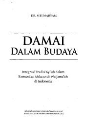 Integrasi Tradisi Syi'ah dalam Komunitas Ahlusunah ... - PDII – LIPI