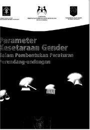 Parameter Kesetaraan Gender Dalam Pembentukan ... - PDII – LIPI