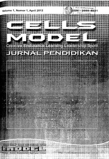 Cells Model: Jurnal Pendidikan - PDII – LIPI