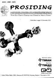 Prosiding Seminar Material Metalurgi 2011 - PDII – LIPI